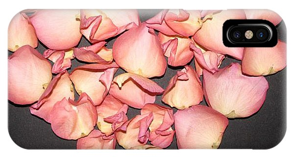 Rose Petals Heart IPhone Case