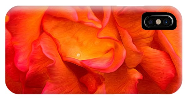 Rose Red Orange Yellow IPhone Case
