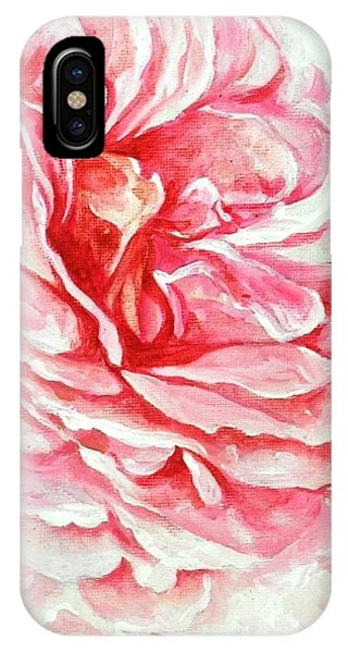 Rose Reflection 3 IPhone Case