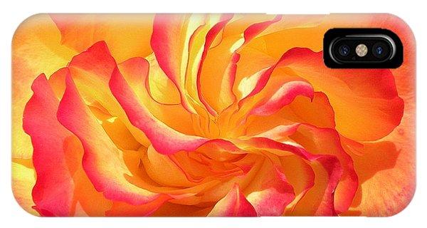 Rose Swirl IPhone Case