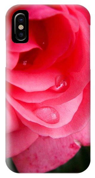 Rose Teardrop IPhone Case