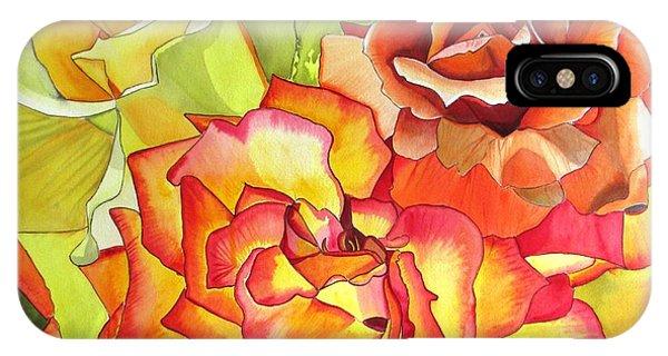 Rose Trio Phone Case by Sacha Grossel