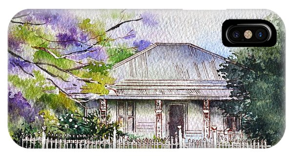 Roseabellas House Bellingen IPhone Case