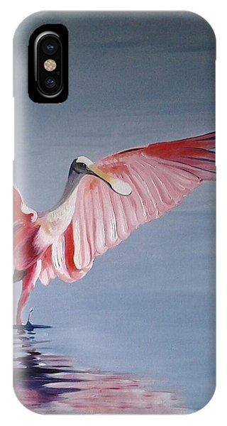 Roseate Spoonbill IPhone Case