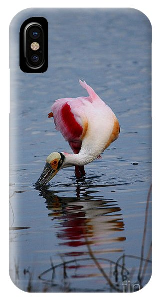 Roseate Spoonbill Twist IPhone Case