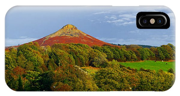 Roseberry Topping Yorkshire Moors IPhone Case