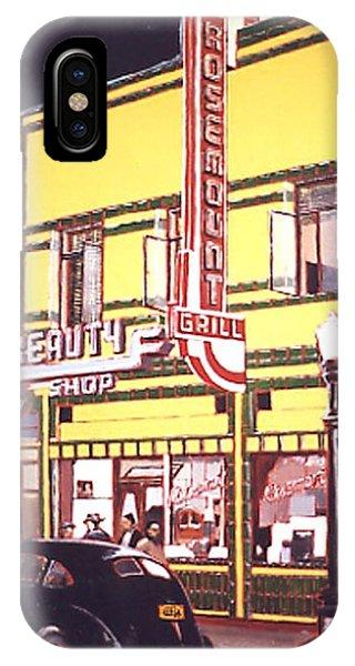 Rosemount Grill Phone Case by Paul Guyer