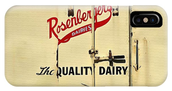 Rosenberger's - Dairy Milk  IPhone Case