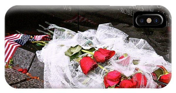 Roses In The Rain IPhone Case