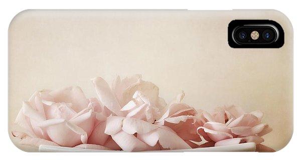 Still Life iPhone X Case - Roses by Priska Wettstein