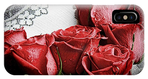 Roses To Remember IPhone Case