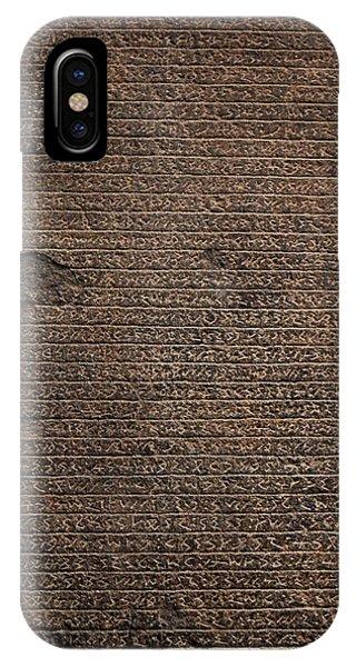 Rosetta Stone Texture IPhone Case