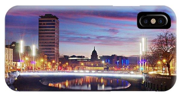 Rosie Hackett Bridge - Dublin IPhone Case