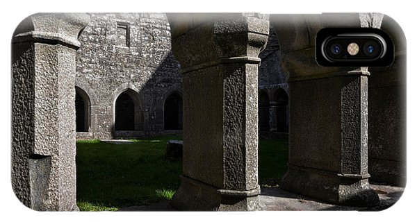 Antiquated iPhone Case - Ross Errilly Franciscan Friary 1351 by Panoramic Images