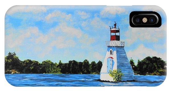 Rosseau Lighthouse IPhone Case