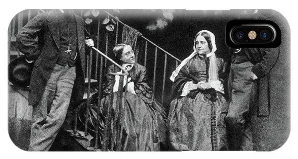 Pre-modern iPhone Case - Rossetti Family, 1863 by Granger