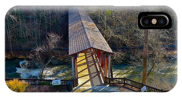Roswell Covered Bridge IPhone Case