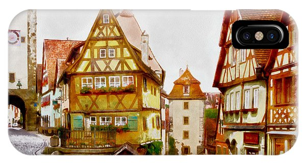 Rothenburg IPhone Case