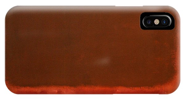 Rothko's Mulberry And Brown IPhone Case