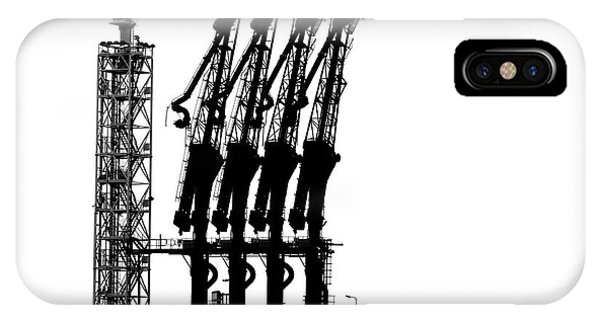 Germany iPhone Case - Rotterdam-harbour by Jan Niezen