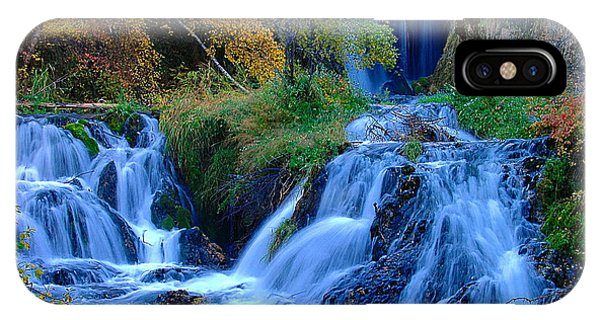 Rough Lock Falls Sd Phone Case by John Currie