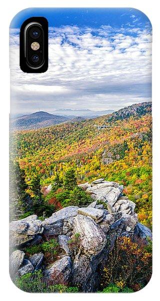 Rough Ridge Fall IPhone Case