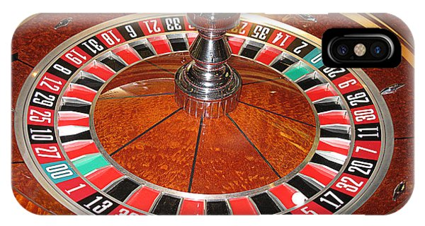 Roulette Wheel And Chips IPhone Case