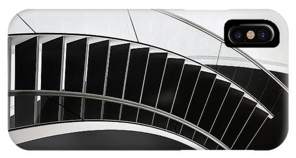 Staircase iPhone Case - Round by Henk Van Maastricht