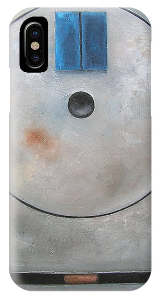 'round Midnight Phone Case by Martel Chapman