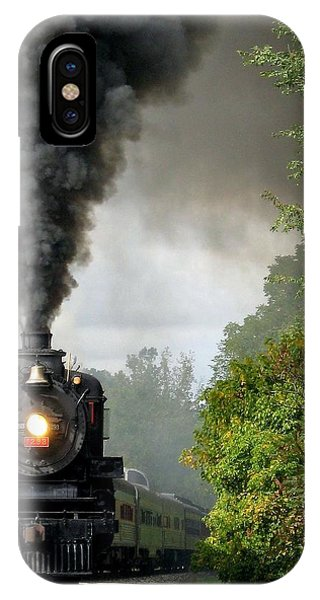 Steamin' In The Valley IPhone Case