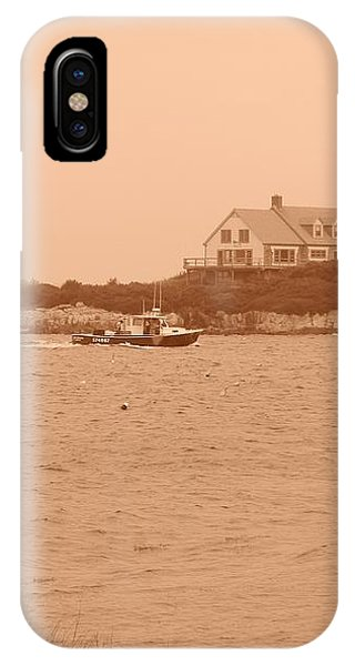 Rounding The Point IPhone Case
