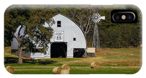 Route 66 Barn IPhone Case