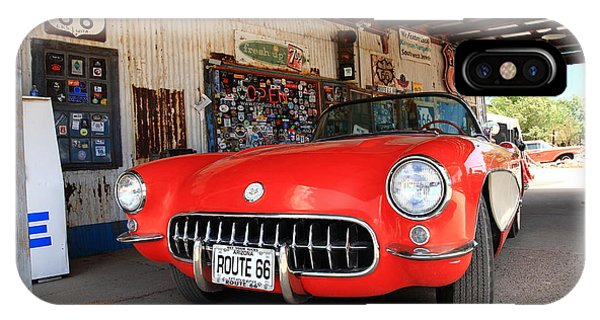 Route 66 Corvette IPhone Case