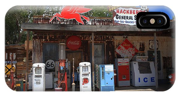 Route 66 - Hackberry General Store IPhone Case