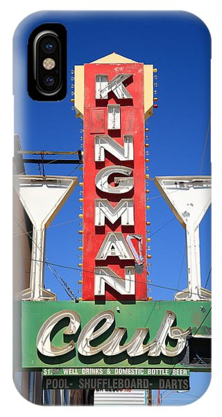 Route 66 - Kingman Club IPhone Case