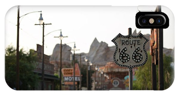 Route 66 IPhone Case