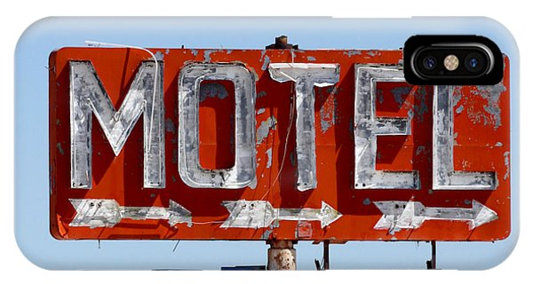 Route 66 Motel Sign IPhone Case