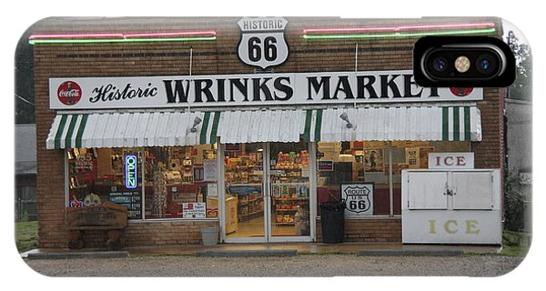 Route 66 - Wrink's Market IPhone Case