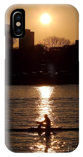 Rower Sunrise IPhone Case