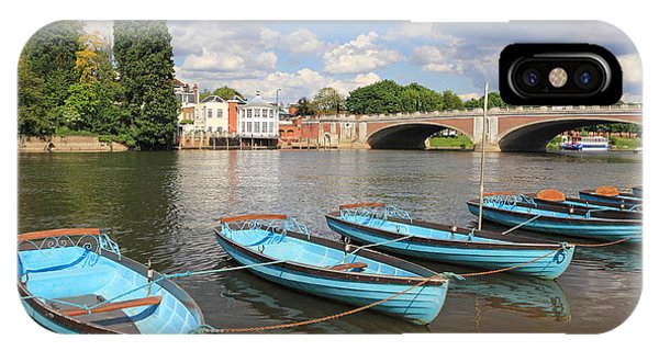 Rowing Boats At Hampton Court IPhone Case