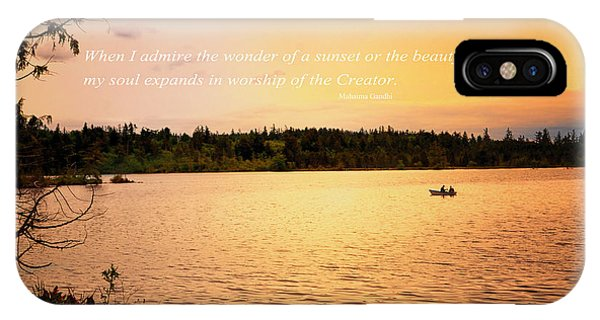 IPhone Case featuring the photograph Rowing Into The Sunset by Kelly Reber