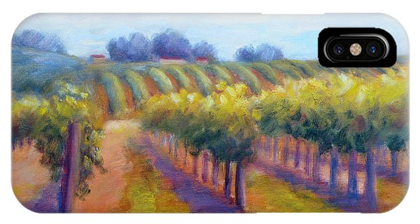 Rows Of Vines IPhone Case