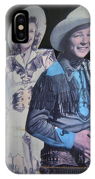 Roy Rogers And Dale Evans #2 Cut-outs Tombstone Arizona 2004 IPhone Case