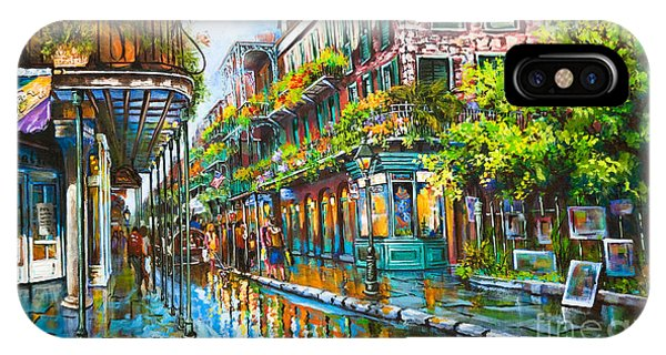 Town iPhone Case - Royal At Pere Antoine Alley, New Orleans French Quarter by Dianne Parks