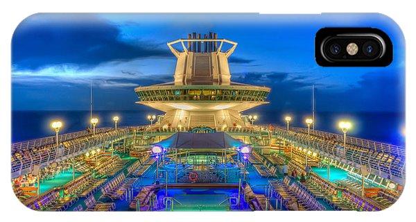 Royal Carribean Cruise Ship  IPhone Case