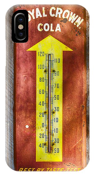 Royal Crown Barn Thermometer IPhone Case