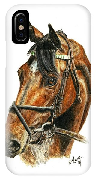 Royal Delta IPhone Case