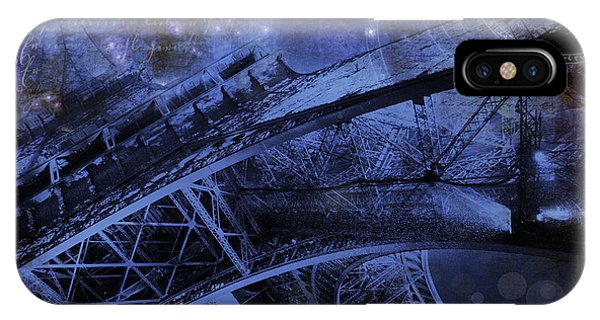 Royal Eiffel Tower IPhone Case