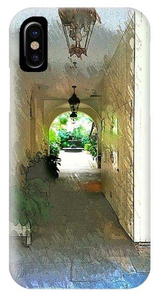 Royal Entrance IPhone Case