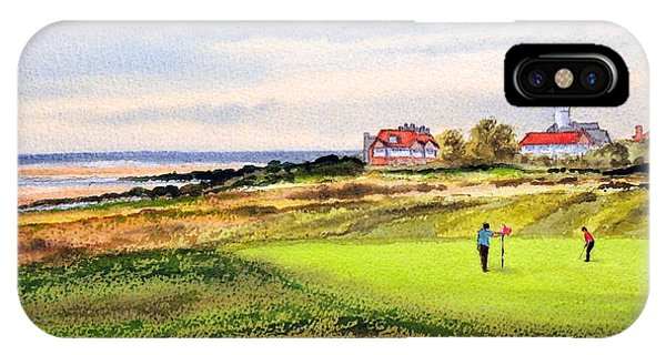Royal Liverpool Golf Course Hoylake IPhone Case